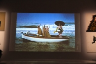video graphic, boat, Goude