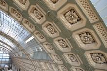 Musée d'Orsay ceiling detail