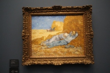 Van Gogh, the siesta