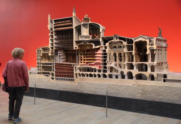 Model of Garnier's Opera House