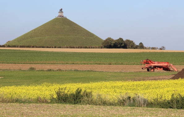 Waterloo and the Lion Mound