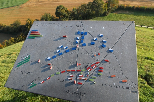 Waterloo battle placement