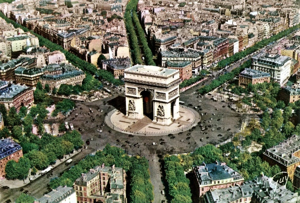 Arc de Triomphe intersection