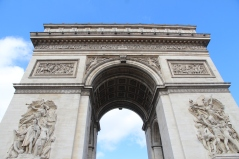 Top of the Arc de Triomphe