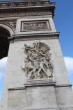 Arc de Triomphe battle scene