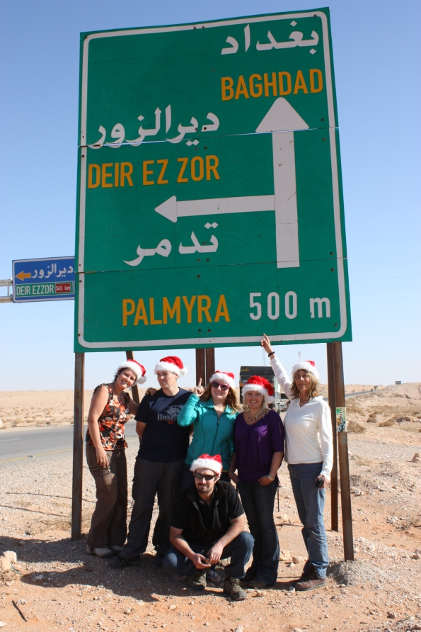 Going to Palmyra