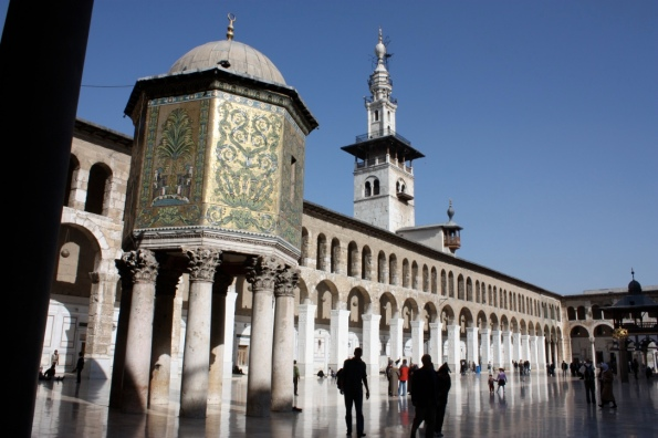 Omayyad Mosque with the Dome of the Treasury