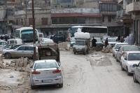Below the citadel in Aleppo