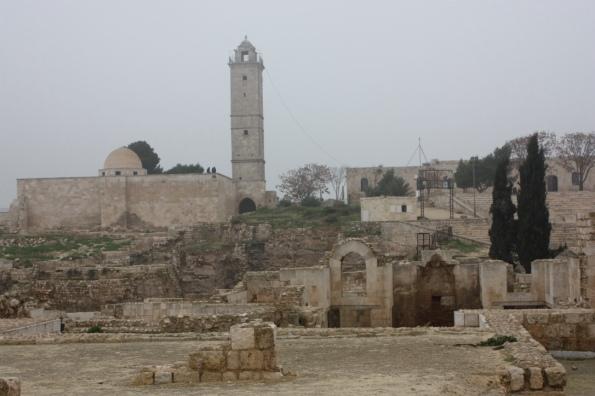 Aleppo citadel interior