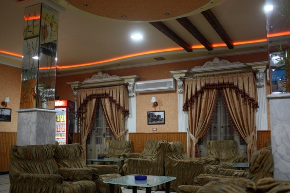 Aleppo hotel common area