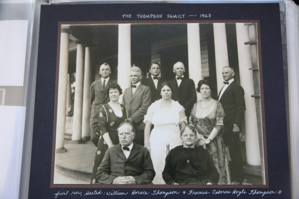 Thompson parents and siblings
