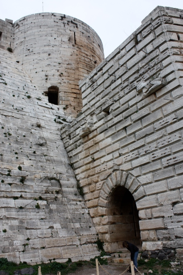 Krak des Chevalier entrance
