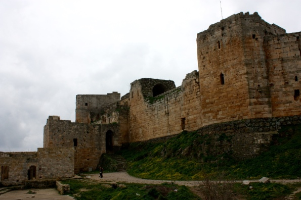 Krak des Chevaliers outer wall