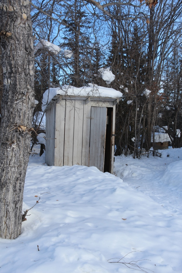 Wiseman outhouse