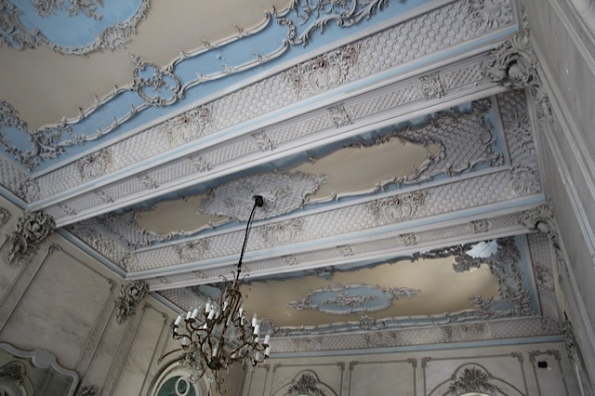 Ferrer Palace ceiling detail