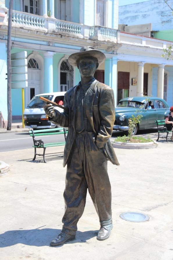Statue, Cienfuegos, Cuba