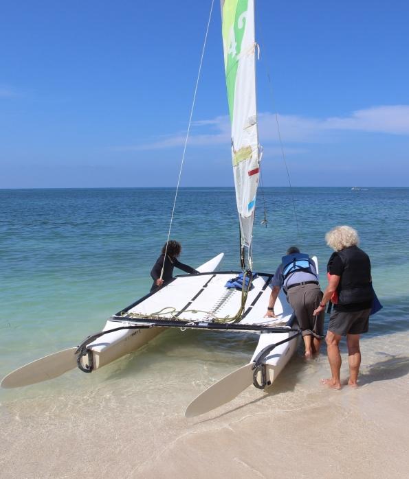 Sailing in Trinidad Cuba