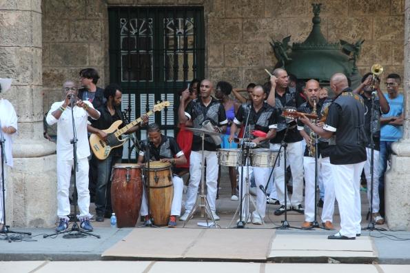 Havana Cuba street band