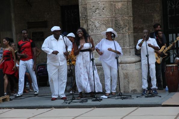 Street singers, Havana Cuba