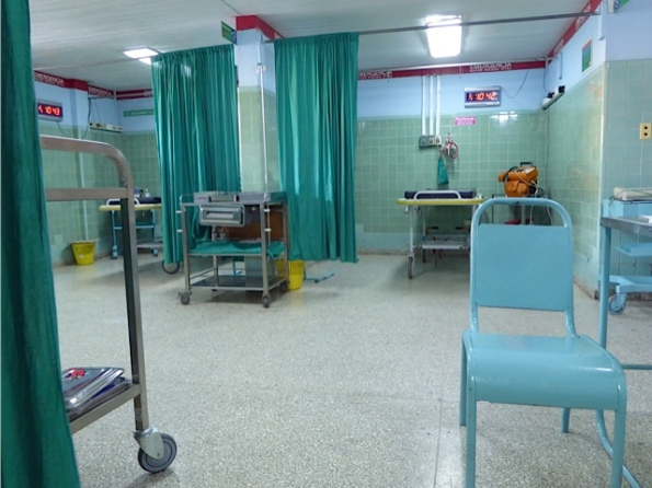 Emergency room in Cienfuegos
