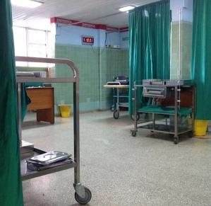 Cuban emergency room