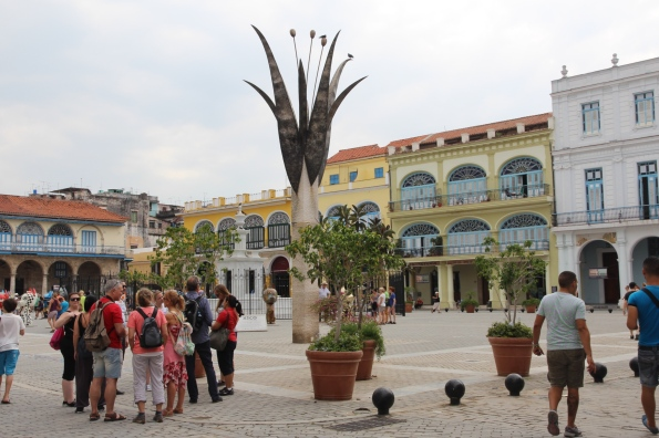 Havana, old square/plaza