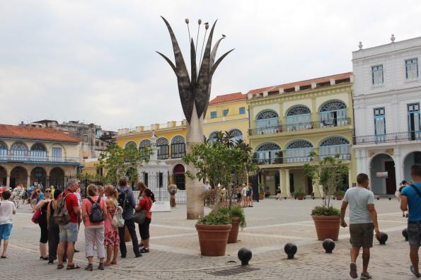 Havana, old square/plaza