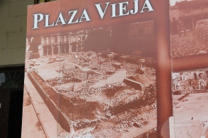 Havana Plaza Vieja before