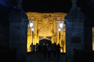 Havana fort entrance