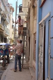 Scaffolding in Cuba