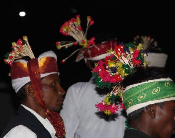 Baiga headdresses for men