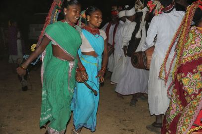 Baiga dancers in India
