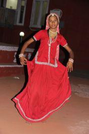 A bhavai dancer