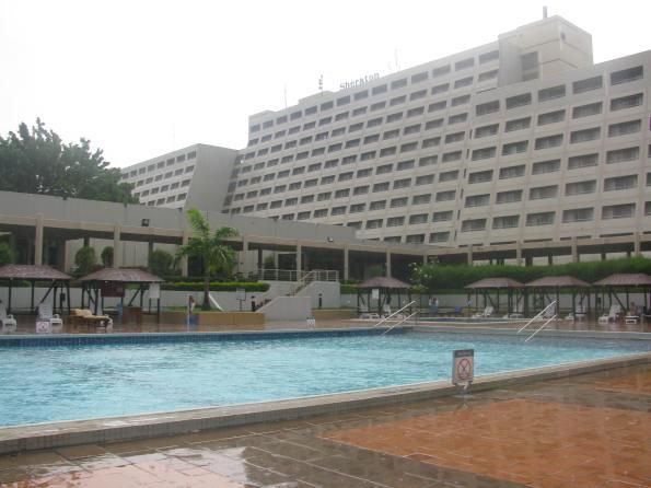 Abuja Sheraton pool