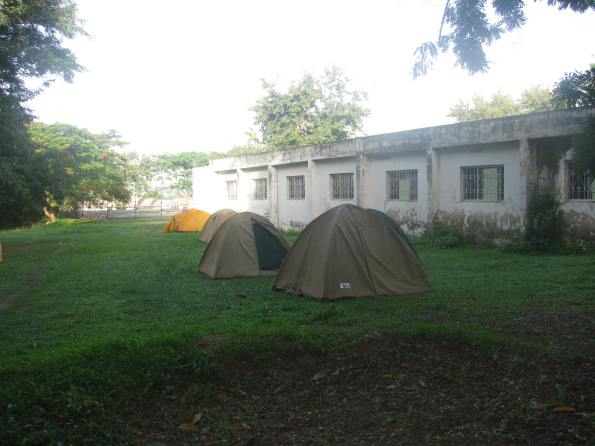 Tents at Sheraton