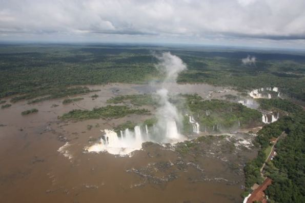 Iguazu Falls and Devil's Throat, South America