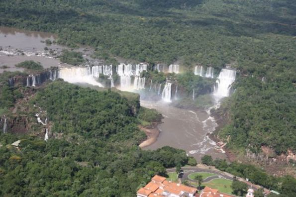 Many drops of Iguazu Falls