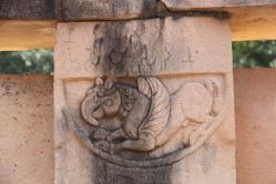 Stupa 2, detail