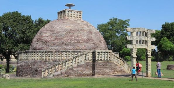 Stupa 3, Sanchi