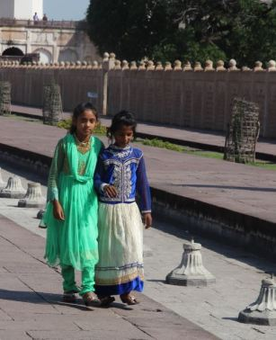 Visitors to Bibi Ka Maqbara