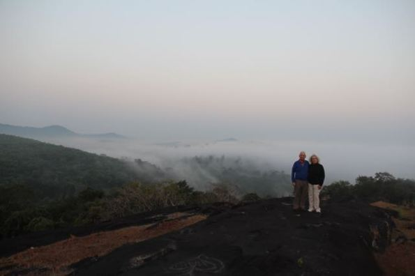 Western Ghats before sunrise
