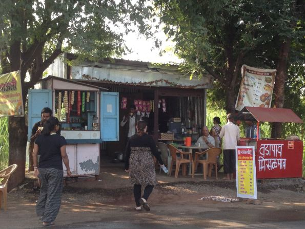 food stall in India