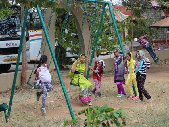 Kids in Bandipur India