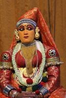 Kathakali dancer—on alert