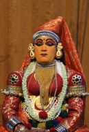 Kathakali dancer—surprised