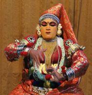 Kathakali dancer—no nonsense