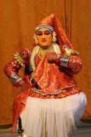 Kathakali dancer—flirting