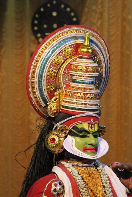 Kathakali dancer—Jayantha