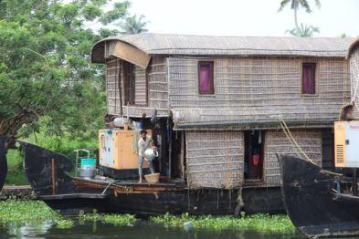 Two-storey houseboat