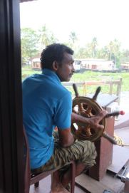 Houseboat captain